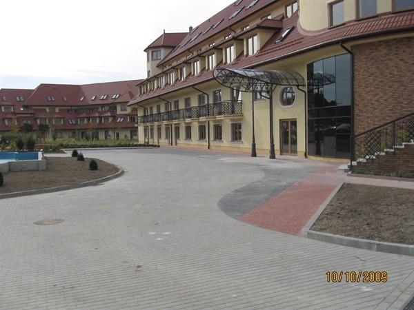 Prace przy budowie obiektu hotelowego OSSA – etap II
